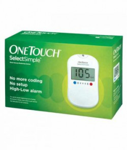 One Touch Select Glucose Monitor Free 10 Strip