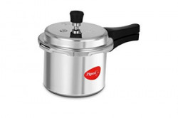 Pigeon Favourite Outer Lid Aluminum Pressure Cooker 3 Litres Silver