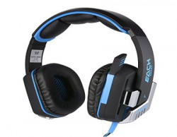 Kotion Each G8200 71 channel USB Over Ear Gaming Headphones for PC with Vibration and LED lights