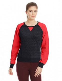 Fort Collins Womens Cotton Sweatshirt 10447OrangeL