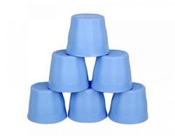 Floraware 300ml Plastic Glasses Set Set of 6 Sky Blue