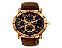 Golden Bell Analogue MultiColour Dial Watch for Men GB172Blk