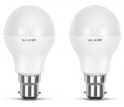 Halonix Photon Plus Base B22 9Watt LED Bulb Pack of 2 Cool Day Light