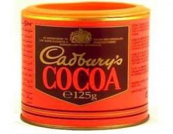 Cadburys Pure Cocoa Powder Tin unsweetened 125g