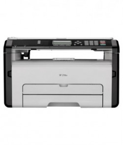 Ricoh Sp 210su Multifunction Laser Printer print Scan And Copy