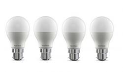 Wipro Garnet Base B22 9Watt LED Bulb Pack of 4 Cool Day Light