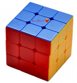Sunshine High Stability Stickerless  3x3x3 Speed Cube Multi Color