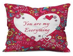 indibni Love Printed Cushion 12X12 Pillow
