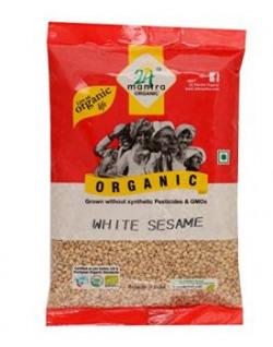 24 Mantra Organic White Sesame Seed 100g