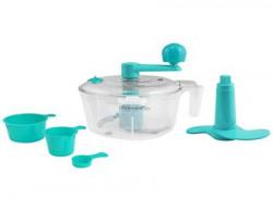Florawarereg 5Piece AttaDough MakerKneader with Cut amp Chop Kitchen Set Blue