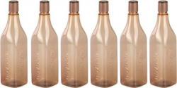 Nayasa Cosmos PET Fridge Bottle Set of 6 Brown