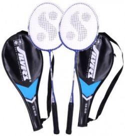 Silvers Sb818 Badminton Racquet 2 pieces with cover