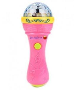 Sunshine Fashion Music Microphone with 3D Lights
