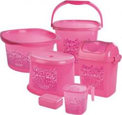 Nayasa Funk 6 Piece Set Deluxe Bucket Pink