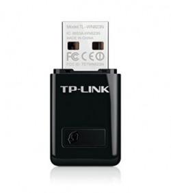TPLink TLWN823N 300Mbps Mini Wireless N USB Adapter Black