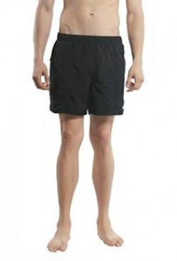 Speedo Solid Leisure Men's Shorts (8901326508152_SEO_8156910001_Black_X-Small)