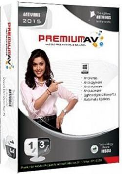 PremiumAV Anti-Virus 2015 - 3 PC, 1 Year (CD)