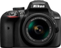 Nikon Digital Camera D3400 DSLR Camera with Kit Lens AF-P DX NIKKOR 18 - 55 mm f/3.5 - 5.6G VR