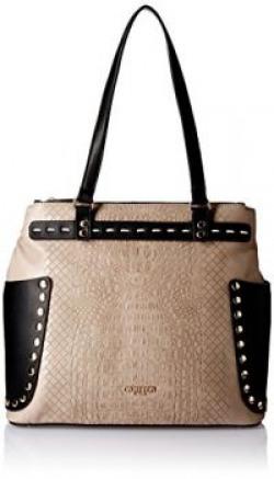 Carlton London Women's Handbag (Grey) (CLLP-104)