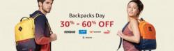 Branded Backpacks at 20 - 60 % Off