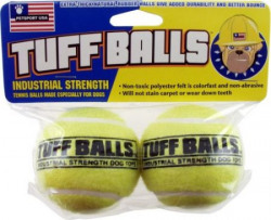 Petsport Tuff Balls 2 pack Dog Toy, 2.5 inches