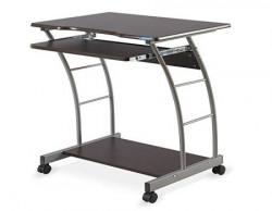 Nilkamal Leo Computer Trolley/Table (Brown)
