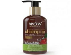 Wow Organics Apple Cider Vinegar Shampoo, 300ml