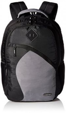 Gear 32 Ltrs Black and Grey Casual Backpack (METLPSPC60104)