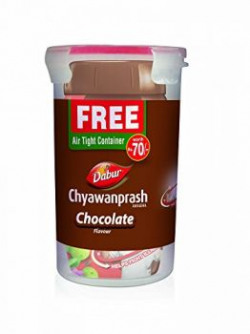 Dabur Chyawanprash - 900 g (Chocolate) -  Free air tight container