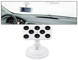 Vheelocityin Suction Cup Car Mobile Holder Car Cradle - White