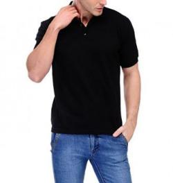 Scott Men's Basic Premium Rich Cotton Polo T-shirt - SC-PN-BL-M