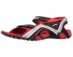 Lotto Men's Dazzel Black/Red Sandals-UK/IN 10 GT7107