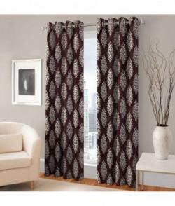 Fashion Fab Set Of 2 Window Eyelet Curtains