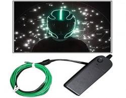 Vheelocityin 200cm Tron style Helmet Light Waterproof LED - Green