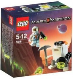 Lego Mars Mission Exclusive Mini Set 5616 Mini Robot