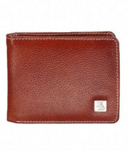 Walletsnbags PDM Leather Mens Wallet Tan