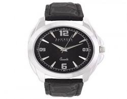 Laurels Diplomat Analog Black Dial Men's Watch ( Lo-Dip-302)