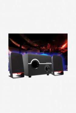 Ambrane SP-200 2.1 Channel Multimedia Speaker (Black)