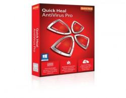 Quick Heal Antivirus Pro - 2 PCs, 1 Year (DVD)