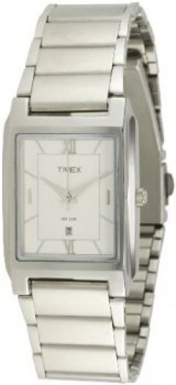Timex Classics Analog Silver Dial Men's Watch - CT13