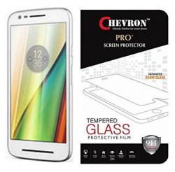 Chevron 0.3mm Pro+ Tempered Glass Screen Protector For Motorola Moto E (3rd generation)