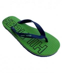 Tommy Hilfiger Green Thong Flip Flop