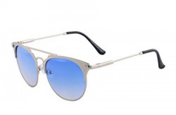 WebelKart UV Protected Cateye Unisex Black Sunglasses