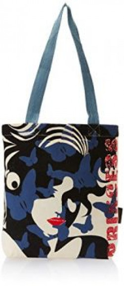 Kanvas Katha Fashion Tote Bag (Ecru) (KKNB012)