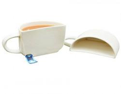 UniqueLane - Ceramic Mugs Half Mug / Tea Cups/ Coffee mugs /Half Cups (Set of 2) White Mug, Dinnerware & Serving Pieces