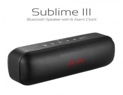 Portronics Sublime III Portable Bluetooth Mobile/Tablet Speaker
