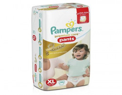 Pampers Premium Care Extra Large Size Diaper Pants (46 Count)