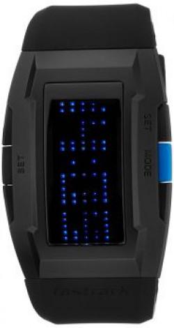 Fastrack Casual Digital Black Dial Men's Watch - 38014PP01J