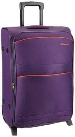 Aristocrat Teana Polyester 66 cms Purple Soft Sided Suitcase (STTEA66PPL)