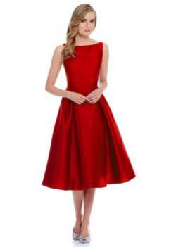Women's Dress(EC_534_red_Free Size)
